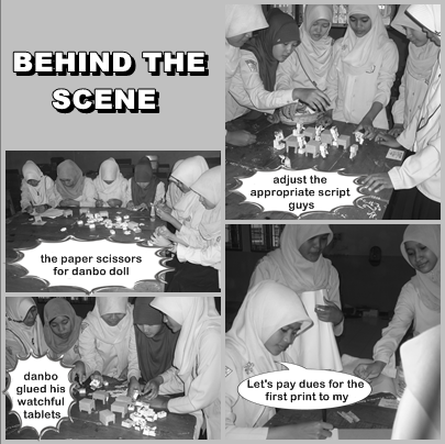 Proses pembuatan komik