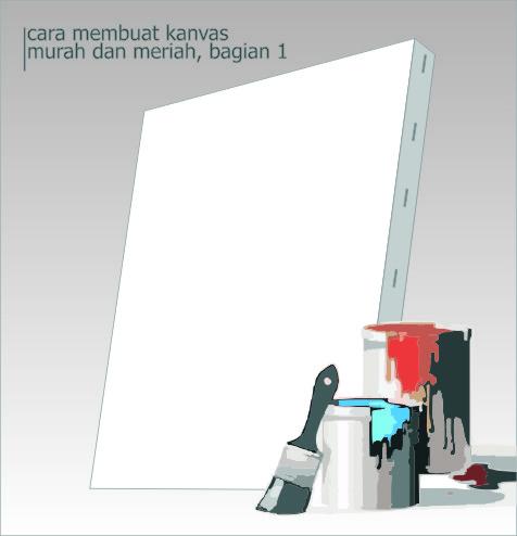 cara membuat kanvas bagian 1