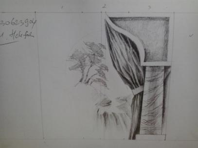 desain mural untuk balai nikah