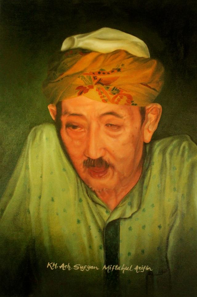 KH. Achmad Sofyan Miftahul Arifin, pengasuh Pondok Pesantren (Ponpes) Sumber Bunga, Desa Sletreng, Kecamatan Kapongan