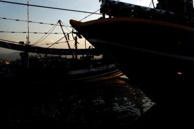 12 sunset Panarukan Situbondo