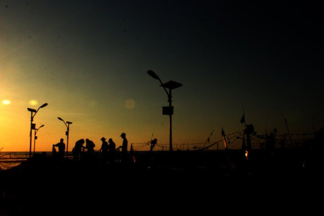 33 sunset Panarukan Situbondo