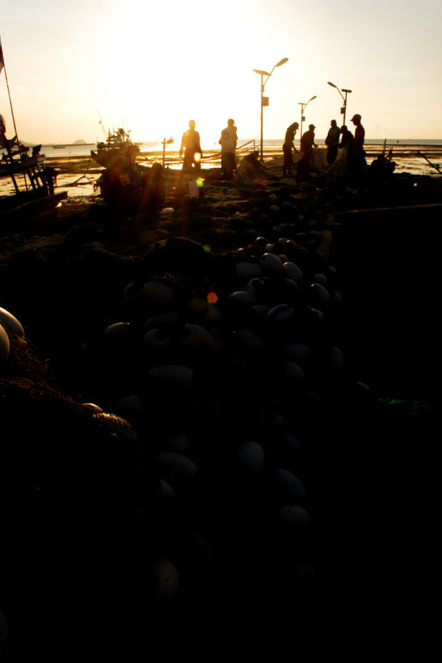 35 sunset Panarukan Situbondo
