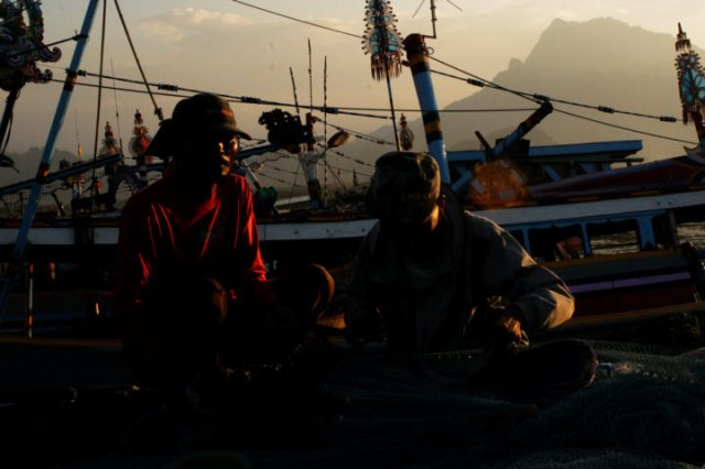 37 sunset Panarukan Situbondo