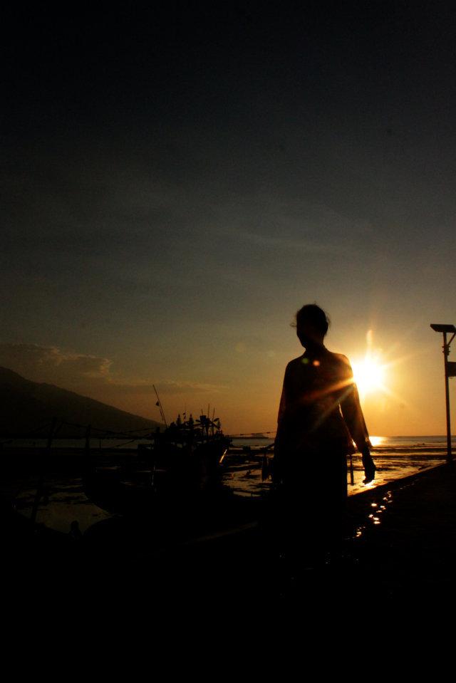 46 sunset Panarukan Situbondo