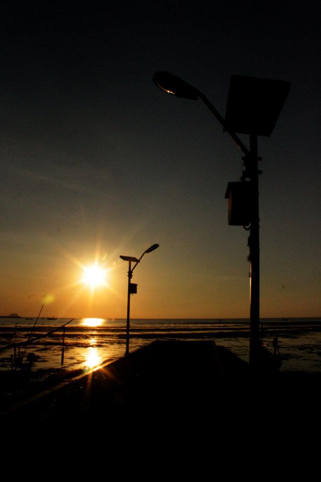 51 sunset Panarukan Situbondo