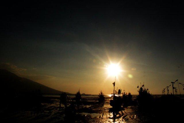 7 sunset Panarukan Situbondo