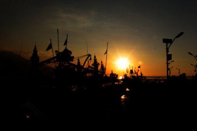 73 sunset Panarukan Situbondo