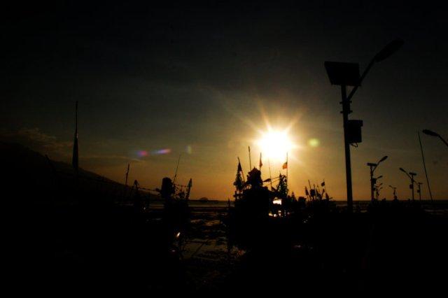 9 sunset Panarukan Situbondo