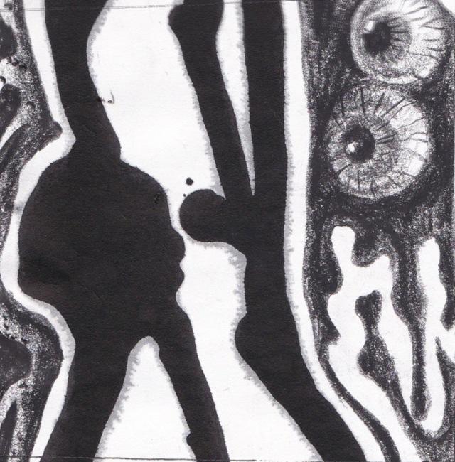 Tinta cina dan arsir 3