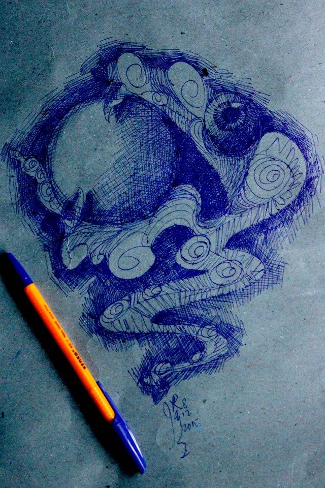bulan drawing