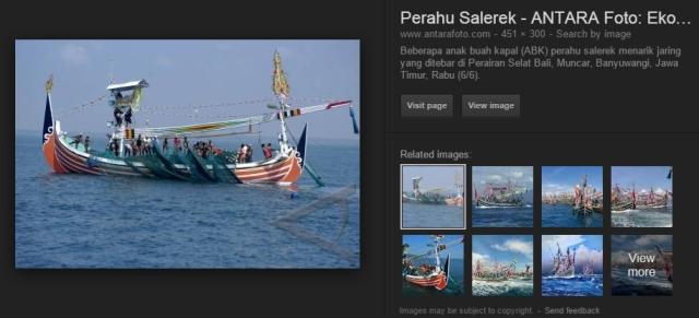 perahu salerek