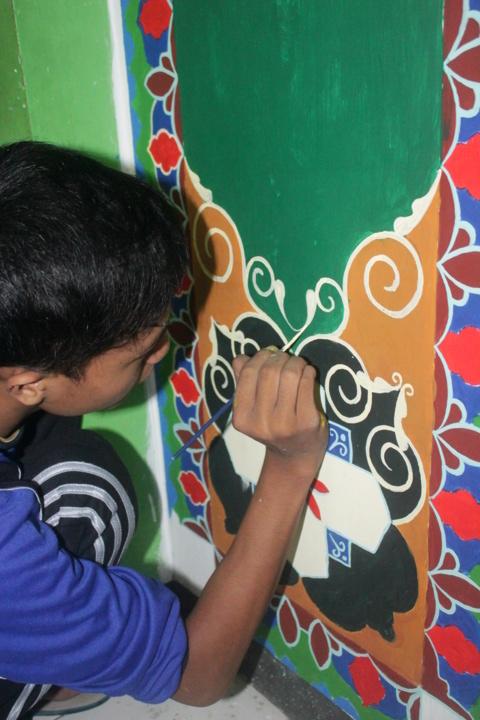 mural dekorasi