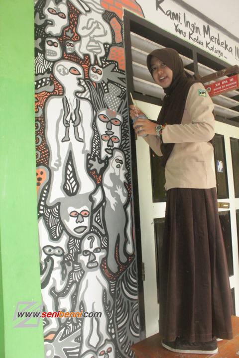mural kenakalan remaja