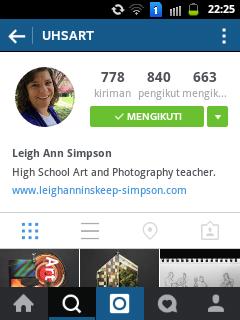 Leigh Ann Simpson High School Art and Photography teacher